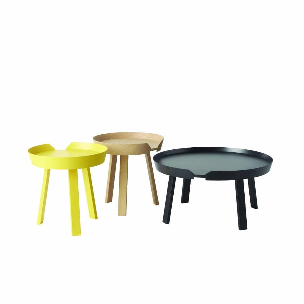 around coffee table muuto. Black Bedroom Furniture Sets. Home Design Ideas