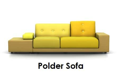 polder bank vitra smellink wonen design. Black Bedroom Furniture Sets. Home Design Ideas