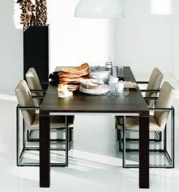 Vivre tafel eettafel Leolux